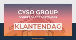 Cyso Group Klantendag